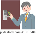 카드 키를 사용 남성 41338584