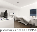 Interior of Mobile clinic car , 3d rendering 41339956