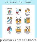 Celebration icons 41340276