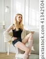Blond woman 41342504