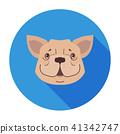 dog icon cartoon 41342747