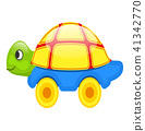 toy, turtle, isolated 41342770