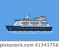 ship, cruise, sailboat 41343756