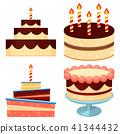 cake food vector 41344432