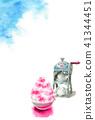 watercolour, watercolors, summer 41344451