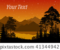 Landscape, Trees and River 41344942