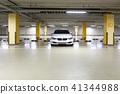 자동차, 지하주차장, 앞유리 41344988