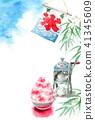 watercolour, watercolors, summer 41345609