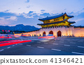 Gyeongbokgung palace in Seoul, South Korea 41346421