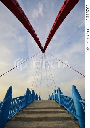橋 苑港觀光漁港 苑裡漁港 台灣 彩虹橋 情人橋 bridge Fishing port 41346763
