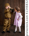 boy, girl, military 41346832
