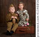 boy, girl, military 41346856