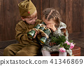 boy, girl, military 41346869