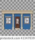 Traditional small shop facade 41347639