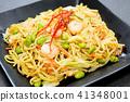 Salt fried noodles 41348001