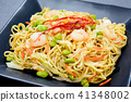 fried soba, shio yakisoba, food 41348002