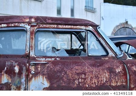 成為廢車的Ame汽車玻璃碎玻璃 41349118