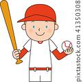 棒球 矢量 擊球手 41350308