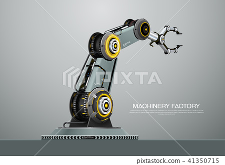 machine robotic robot arm hand factory 41350715