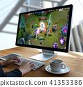 man playing fun gamer gamepad  game Games  41353386