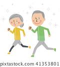 시니어, 노년, 노인 41353801