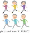 시니어, 노년, 노인 41353802