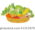 Vegetable in basket 41353979