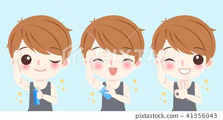 businessman with body odor problem 41356043