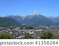 초여름의 북 알프스 산록 나가노 현 오 마치시 41356264