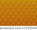 Luxury golden floral pattern vector background 41356549