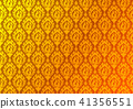 Thai golden vintage pattern vector background 41356551