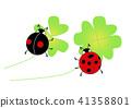 瓢蟲和三葉草 41358801