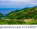(시즈오카 현) 니시 이즈 石部의 계단식와 후지산 41359687