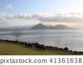 View of Lake Toya, Hokkaido, Japan 41361638