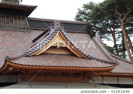 日本北海道五陵郭的日式建築 41361640