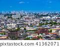"""Tokyo Metropolitan Tokyo"" อาคารถนนและพื้นที่อยู่อาศัย 41362071"