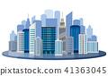 建筑 矢量 城市 41363045