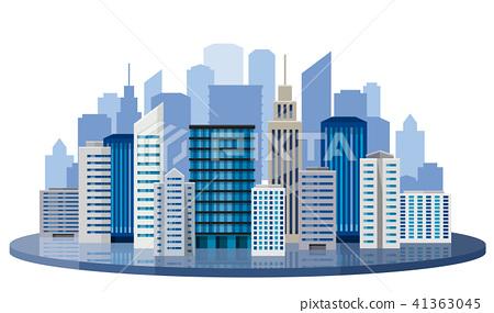 도시, 건물 41363045