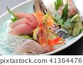 什錦生魚片 41364476