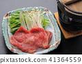 ชาบูชาบูเนื้อ shabu shabu 41364559