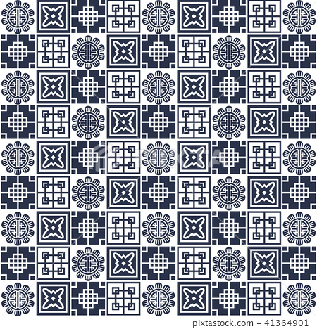 Asian vector pattern,pattern fills, web page 41364901
