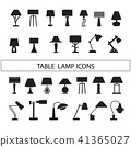 table lamp vector 41365027