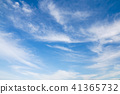 蓝天 蓝蓝的天空 天空 41365732