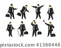 set of men in a business suit 41366446