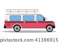 travel van icon. 41366915