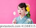kimono, female, lady 41368315