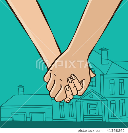 Couple go from house 41368862
