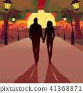 Romantic date in the evening 41368871