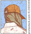 print, girl, design 41369369