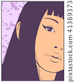 print, girl, design 41369373
